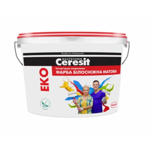 Краска интерьерная Ceresit Eko 3л