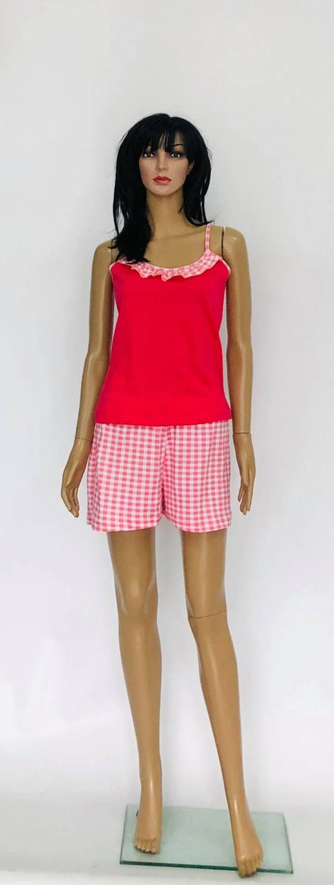Женская летняя пижама топ и шорты