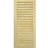 Двери жалюзи Woodtechniс сосна 2422х394 мм