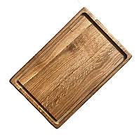 Тарелка деревянная,  прямоугольная, фото 1
