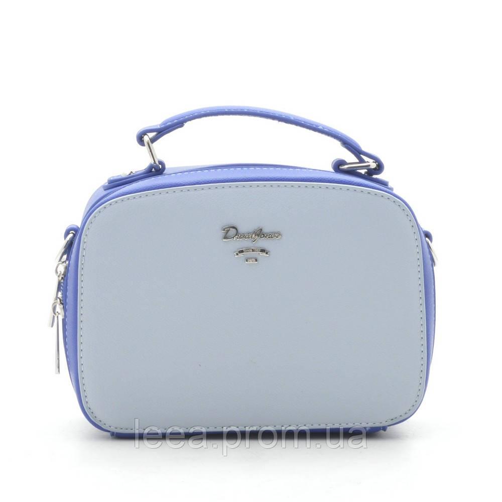 Клатч D. Jones CM5016 pale blue/blue