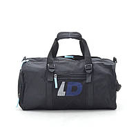Дорожная сумка LD черная (синие буквы), фото 1