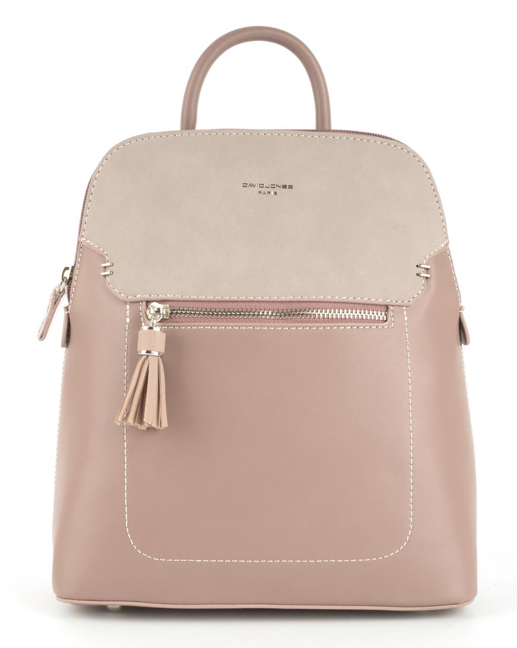 Стильний і якісний оригінальний рюкзак цікавої форми з шкіри PU DAVID JONES art. 5915-2T