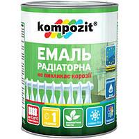 Эмаль Kompozit для радиаторов белая 0.3 л