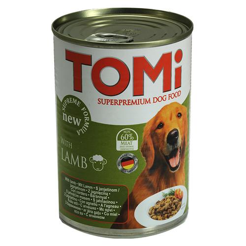 TOMi lamb ТОМИ ЯГНЕНОК супер премиум корм, консервы для собак 1.2кг х 12 шт