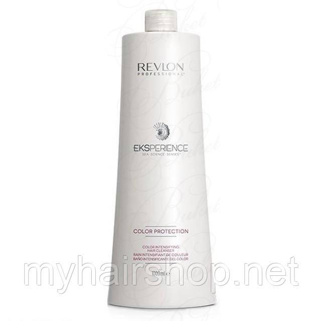 Шампунь для фарбованого волосся REVLON Eksperience Color Protection Color Intensifying Cleanser 1000 мл