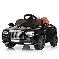 Детский электромобиль машина Rolls-Royce M 3587EBLRS-2 с кожаным сиденьем