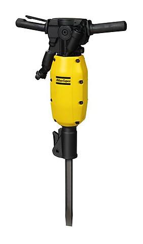 Пневматический бетонолом Atlas Copco TEX 150PE в шумоподавляющем кожухе и с гашением вибраций