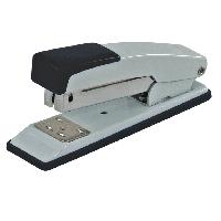 Степлер металлический на 20 листов (Скобы №24, 26), JOBMAX, черный