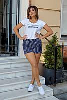 Шорты женскиена резинке с боковыми карманами (К28395), фото 1