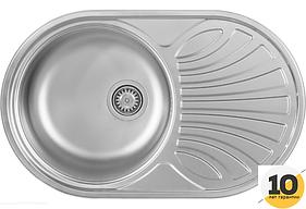 Мойка кухонная полированная Kernau KSS B 453 1B1D SMOOTH