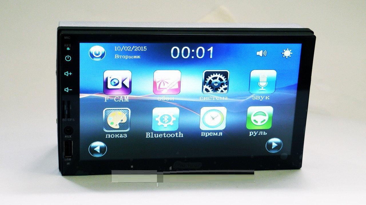 Автомобильные магнитолы | Автомагнитола с сенсорным экраном 2Din MP5 7024 с GPS