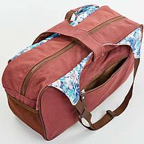 Сумка для фитнеса и йоги Yoga bag KINDFOLK FI-8366-2, фото 2