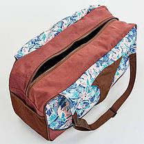 Сумка для фитнеса и йоги Yoga bag KINDFOLK FI-8366-2, фото 3