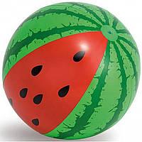 """Надувной мяч """"Арбуз"""" Intex, 107 см (58071), фото 1"""