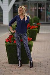 Женские штаны -лосины Полоска, 42,44,46