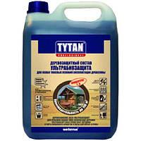 Биозащита Tytan 3 для древесины концентрат зеленый 1 л