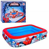 Детский надувной бассейн Bestway 98011 Спайдермен 201х150х51см 450л