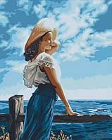 """Картина по номерам """"Морской бриз"""""""