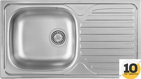 Мойка кухонная микротекстура Kernau KSS C 403 1B1D LINEN