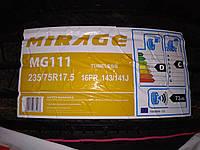 MIRAGE MG111 235/75 R17.5 [143/141 J ) 16PR руль, фото 1