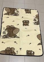 Одеяло детское из овечьей шерсти Eluna, размер 1,25 * 1,0 м \ Tvd - 1006