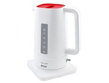 Электрочайник Mystery MEK-1618 white/red