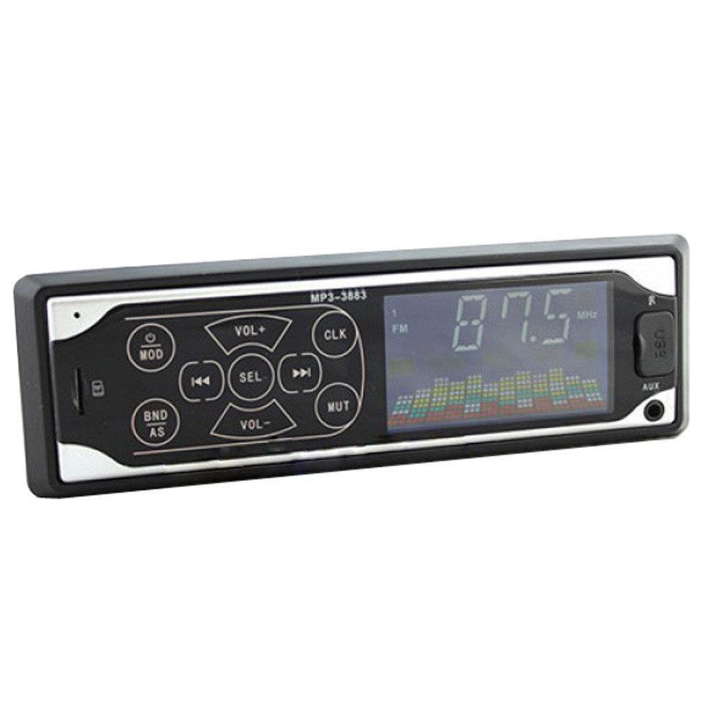 Автомобильные магнитолы   Автомагнитола MP3 3883 ISO 1DIN сенсорный дисплей