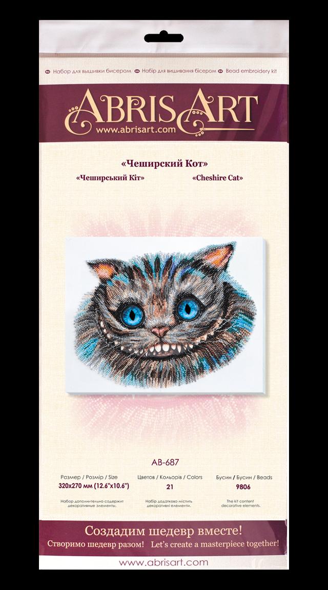 Вышивка бисером Чеширский Кот