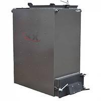 Твердотопливный котел Холмова 30 кВт (шахтный длительного горения) Bizon FS-30 Eko