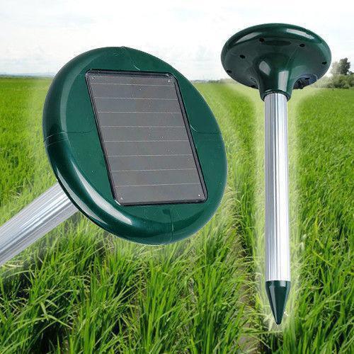 Отпугиватель кротов на солнечной батарее Garden Pro против кротов