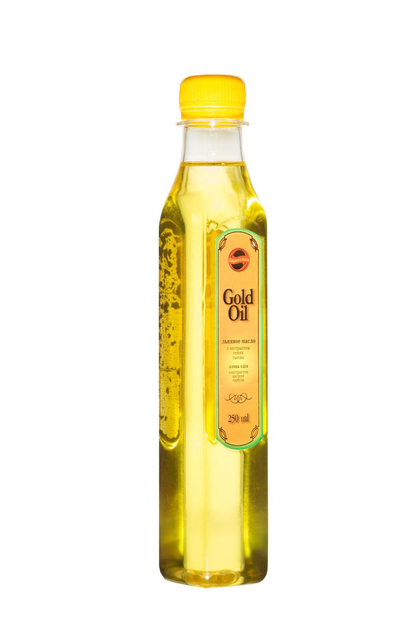Масло льна с масляным экстрактом тыквы для сосудов, улучшения обменных процессов и работы ЖКТ.