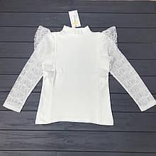 Блуза школьная Little Star для девочек оптом р.6-8-10 лет