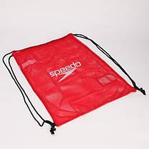 Рюкзак-мешок SPEEDO 8074076446 EQUIPMENT MESH BAG (полиэстер, р-р 68х49см, красный), фото 3