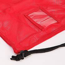 Рюкзак-мешок SPEEDO 8074076446 EQUIPMENT MESH BAG (полиэстер, р-р 68х49см, красный), фото 2
