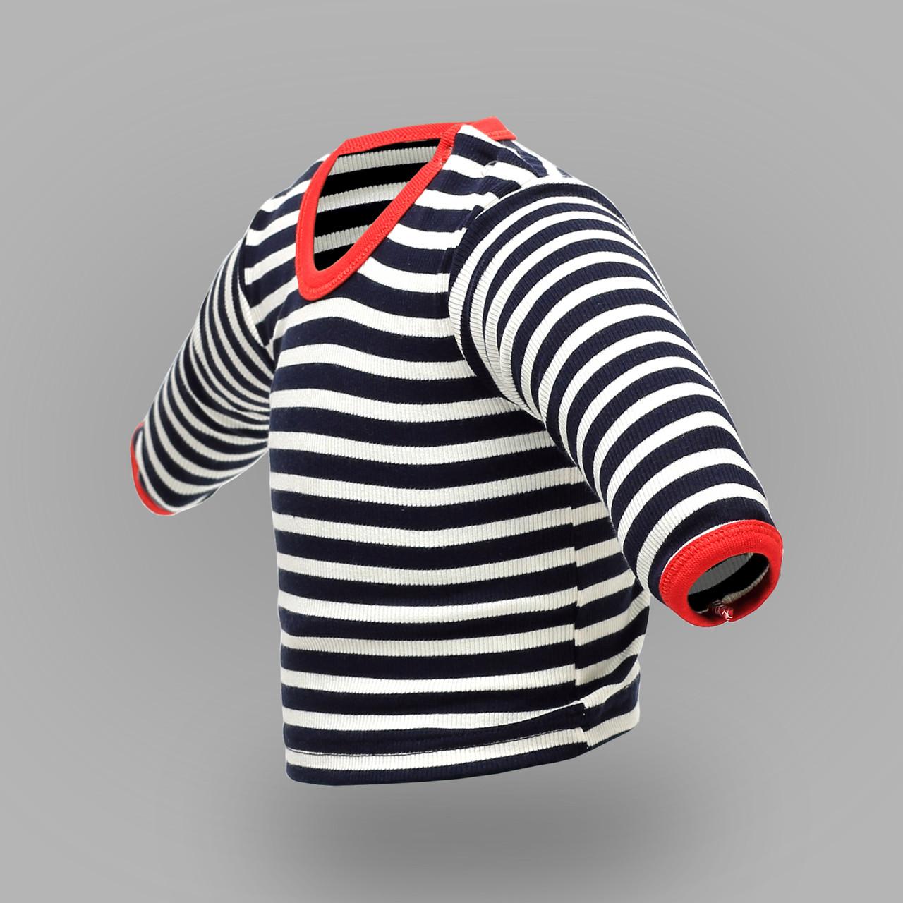 Футболка ясельная с длинным рукавом в полоску |  Футболка дитяча з довгим рукавом в смужку