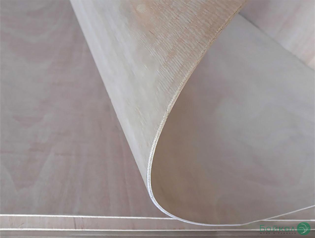 Фанера гнучка сейба 3 мм - 1,22х2,44 м (Поперечна / Cross)