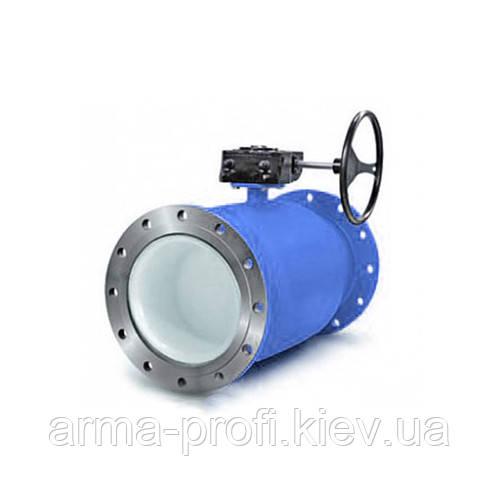 Кран шаровый фланцевый Interval стандартнопроходной Ду 400/350