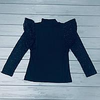 Блуза школьная нарядная для девочек оптом р.6-8-10-12-14 лет