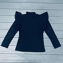 Блуза школьная Little Star для девочек оптом р.6-10-12 лет