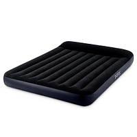 Надувной матрас-кровать Intex 64148 Pillow Rest Classic Bed Fiber-Tech 137х191х25см
