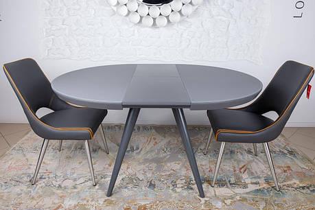 Стол обеденный AUSTIN ( Остин ) Nicolas,графит, фото 2