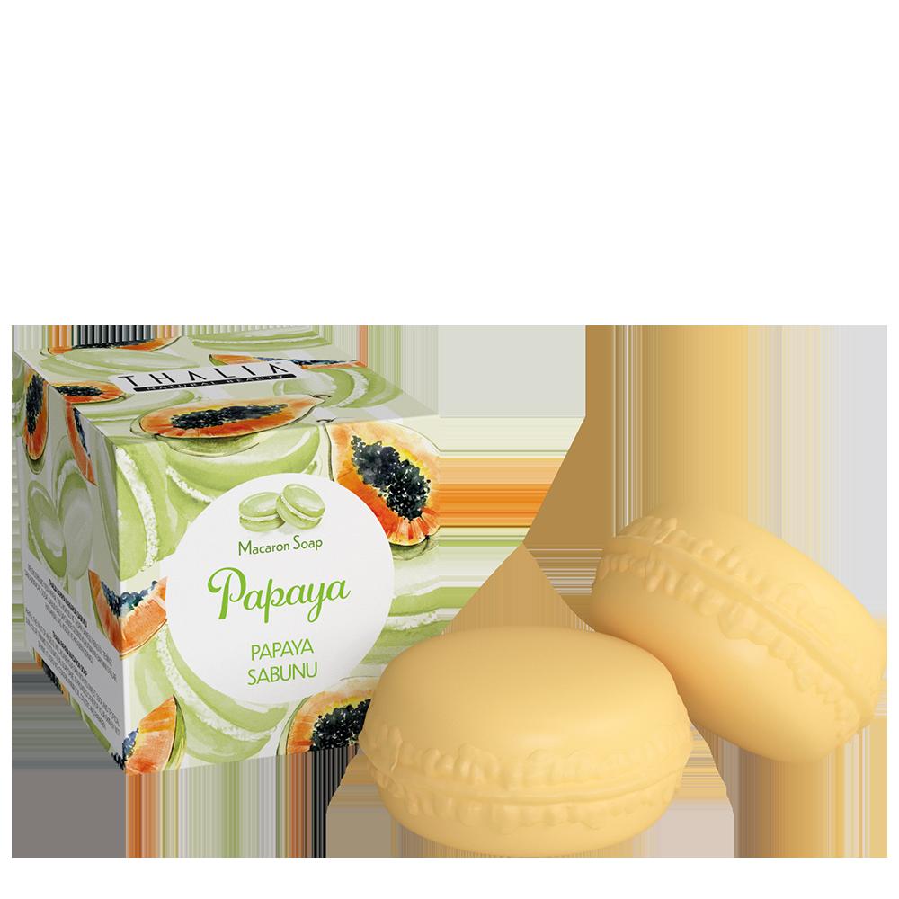 Мило-макаронAkten Cosmetics Thalia Papaya2×50 г (3605050)