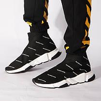 Женские кроссовки Balenciaga Speed Trainers Black 506336W06501006, Баленсиага Спид Трейнер, фото 3