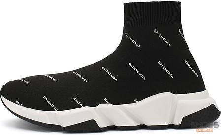 Женские кроссовки Balenciaga Speed Trainers Black 506336W06501006, Баленсиага Спид Трейнер, фото 2
