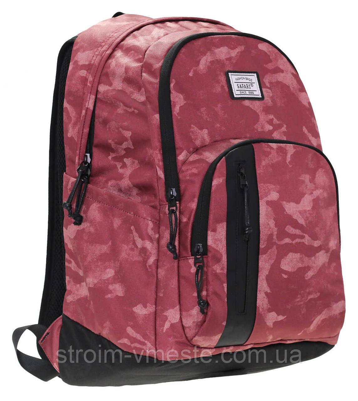 Рюкзак, 3 отделения, 48*31*21см, PL, Safari Trend, 19-108L-1, SAFARI