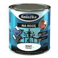 Эмаль Sniezka на ржавчину эффект молотка коричневая 0.65 л