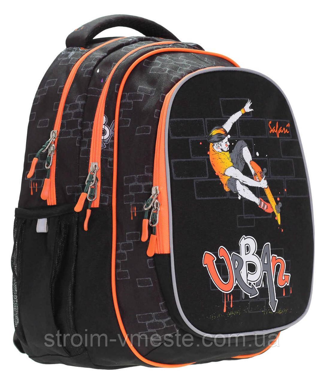Рюкзак, 3 отделения, 40*29*17см, PL, Safari Basic, 19-117M-1, SAFARI
