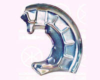 Защита тормозного диска переднего правая ATE Girling Seat Ibiza Cordoba 99-02