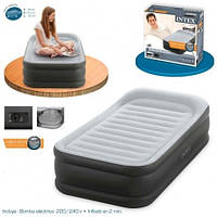 Надувная кровать Intex 64432 - Deluxe Pillow Rest Raised Bed 191x99x42см